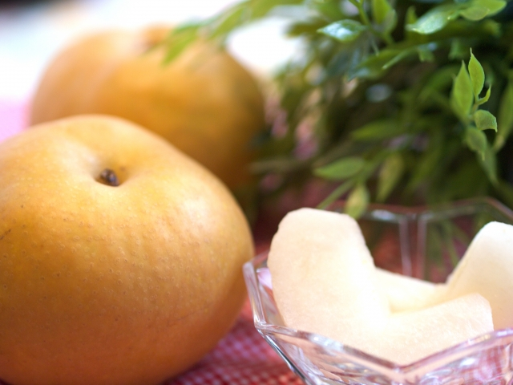 水分補給 栄養補給に良い 梨 残暑