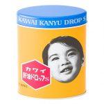 昔懐かし「肝油ドロップ」のカワイイ缶入りを食べてみました
