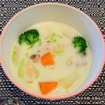 【幼児食アドバイザーのレシピ】野菜たっぷり米粉のシチュー