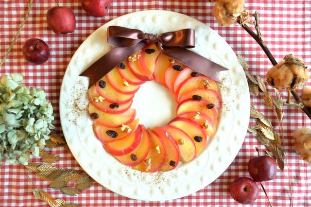 りんごのリース