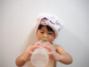 風呂上りの水分補給