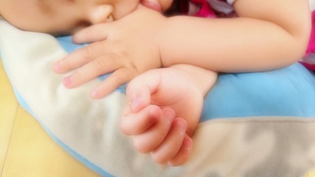 子ども昼寝