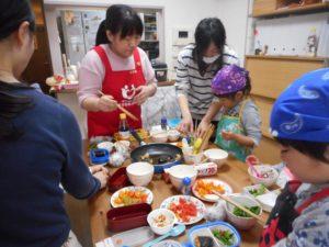 おうちの台所で食育 料理教室