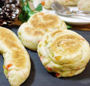 クリスマス 野菜 メニュー パン