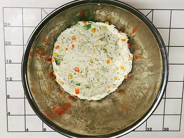 クリスマス パン 野菜パン ベジタブルパン 作り方 レシピ