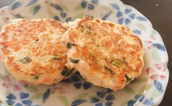 野菜入り豆腐ハンバーグ 離乳後期レシピ 離乳完了期