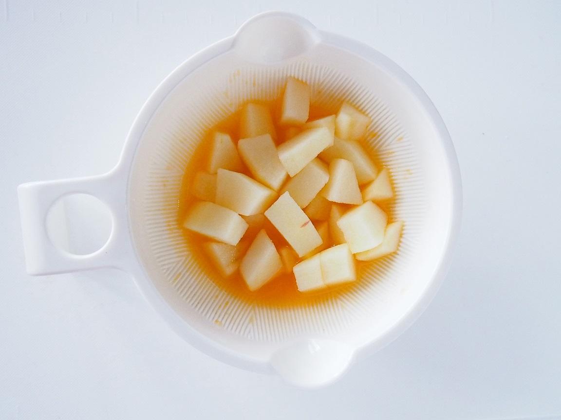 りんご コンポート 離乳食 作り方 レシピ
