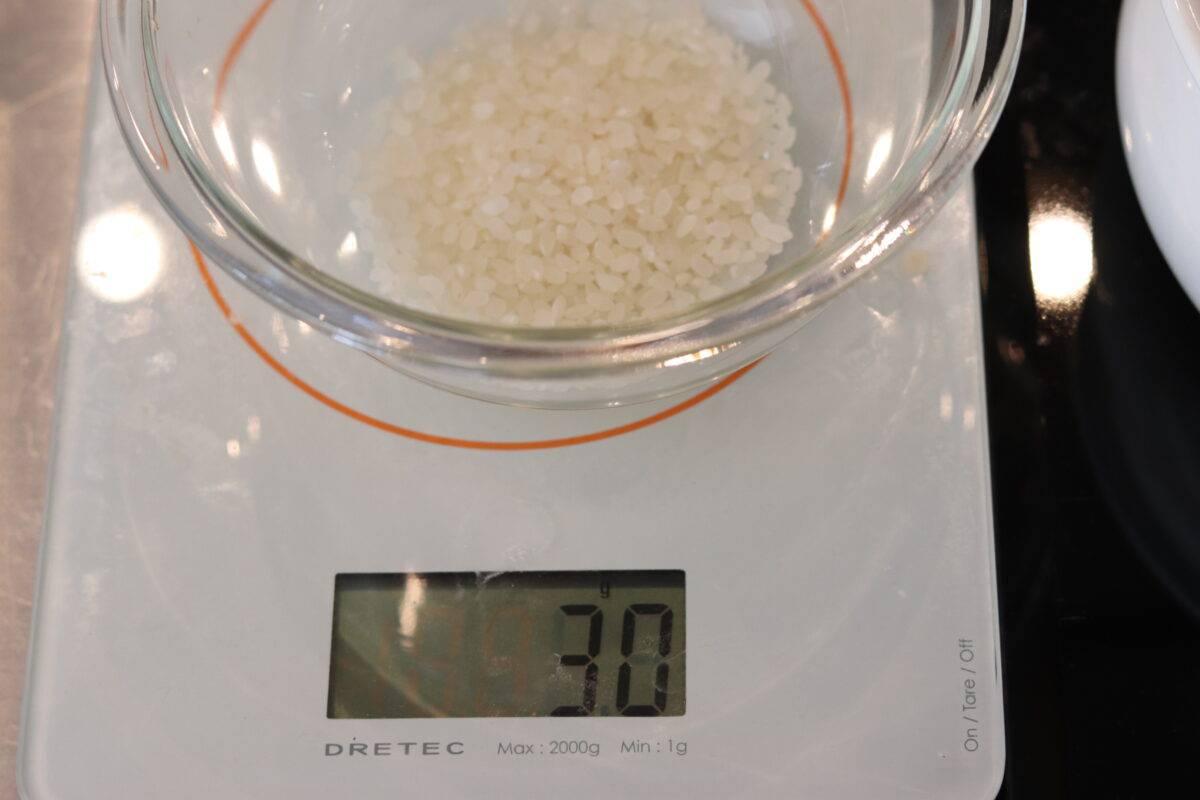 米 離乳食 10倍がゆ つぶしがゆ